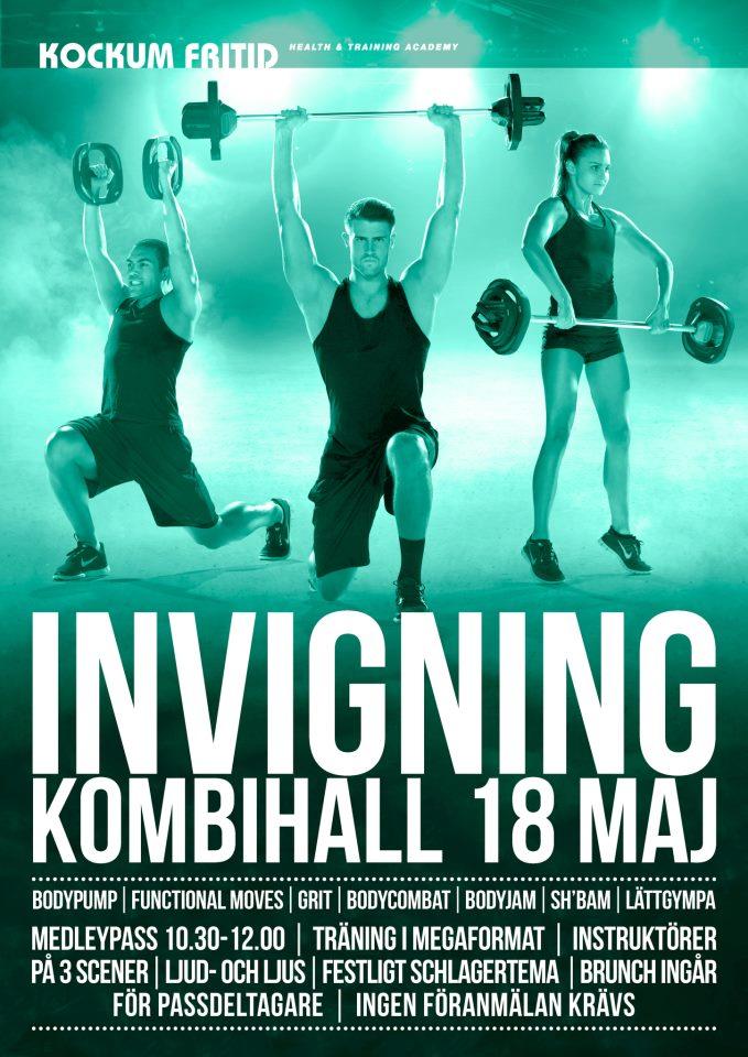 Stinas träningsblogg - invigning kombihall