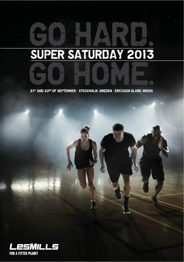 Stinas träningsblogg - Supersaturday