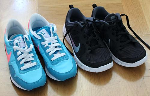 Stinas träningsblogg - nya skor