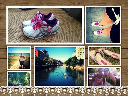 Stinas träningsblogg - sommar
