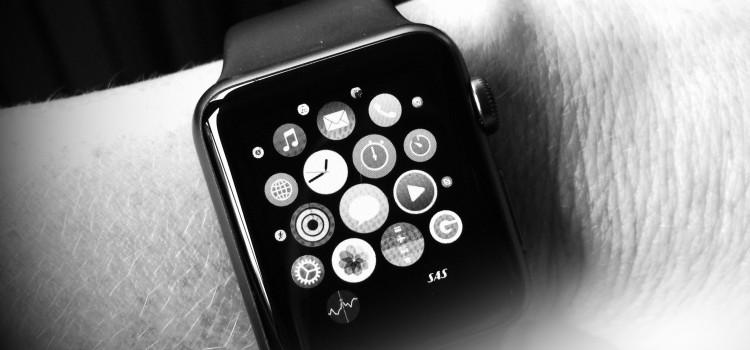 Min nya Äpple klocka